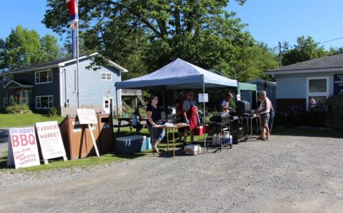 A picture of the barbeque at the Caledonia VIC.