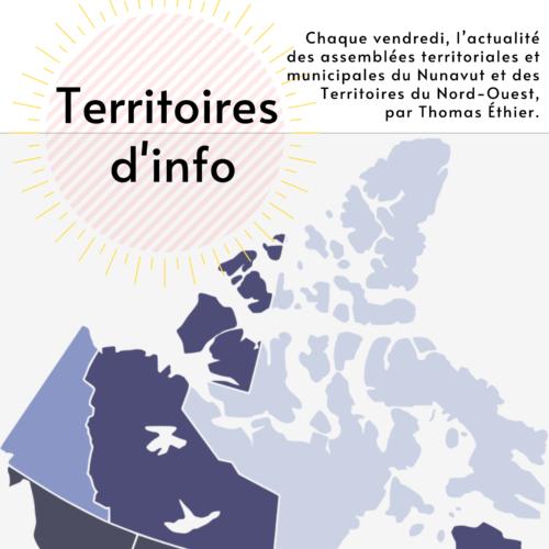 Logo de l'émission Territoires d'info, par le journaliste IJL Thomas Ethier.
