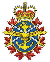 A picture of the Canadian Armed Forces logo.