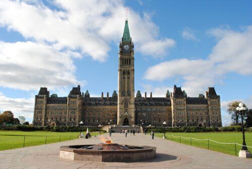 Le Parlement Canadien, à Ottawa