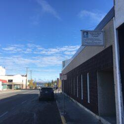 Vue des bureaux du Collège Aurora qui pourrait se transformer en centre de jour temporaire pour les sans-abris de Yellowknife