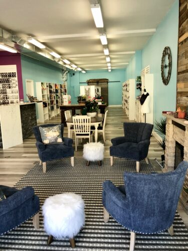An inside look of the String Theory Yarn shop downtown Fergus, Ont.
