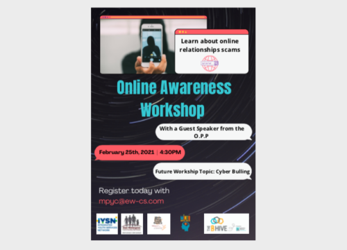The Main Place Youth Centre in Erin has partnered with the BHive in Fergus as well as the Integrated Youth Services Network (IYSN) to create virtual online safety presentations.