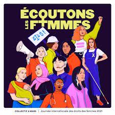 logo de la Journée internationale pour les droits des femmes 2021