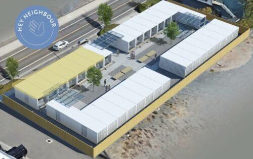 futur site pour les conteneurs