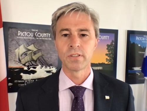 Nova Scotia PC Leader Tim Houston