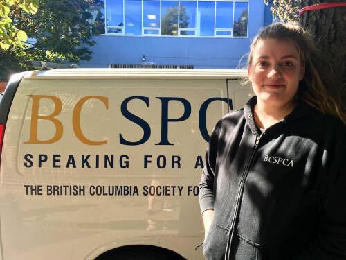 BC SPCA's Diane Waters