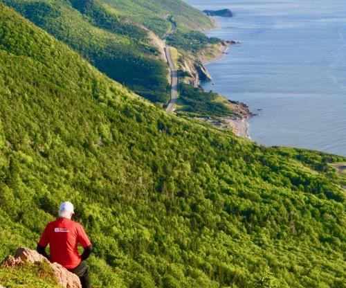 Paysage au Cap-Breton.