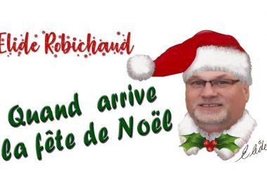 Élide Robichaud est de retour avec la chanson Quand arrive la fête de Noël. Crédit photo: Le Grenier musique.
