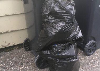 Françoise Landry ramasse des déchets tous les jours depuis 1950 dans sa communauté pour promouvoir la propreté de la municipalité.