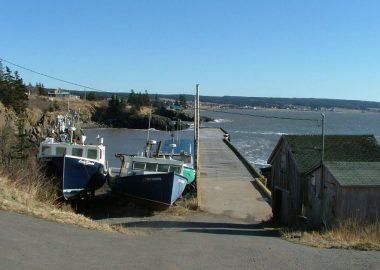 Le port de Scott's Bay. Photo : avec l'accord de Map.io