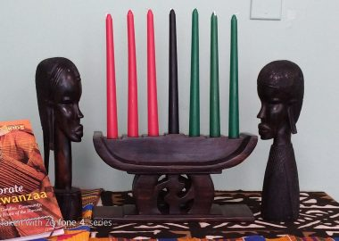 Main symbol of Kwanzaa and other symbolic items