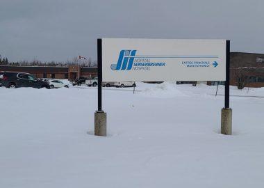 Le panneau en face de l'Hôpital de Sensenbrenner