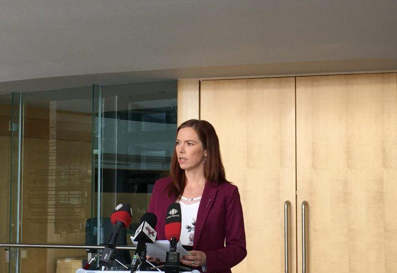 La ministre des finances des Territoires du Nord-Ouest, Caroline Wawzonek