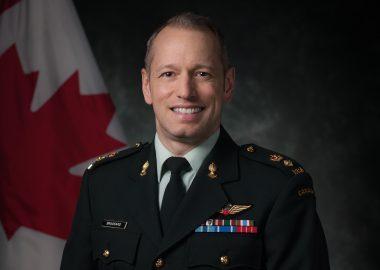 Lieutenant-Colonel David Brassard, Forces armées canadiennes