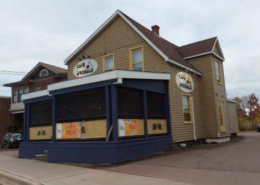 Vue du Café Archibald de Moncton