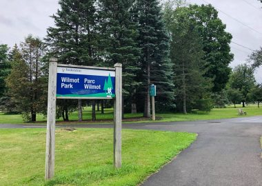 Le Parc Wilmot à Fredericton