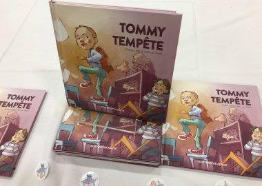 Le livre Tommy Tempête, par Audrey Long