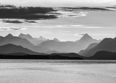 West Coast contrast (Campbell River area) by Jana Allingham via Flickr (CC BY SA, 2.0 License)