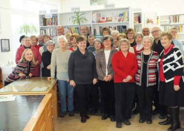 All the volunteers at the Sutton library