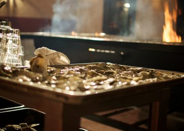 Oysters in a seafood bar by John Tornow via Flickr (CC BY SA, 2.0 License)
