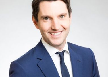 A professional headshot of MNA Andre Fortin against a white background