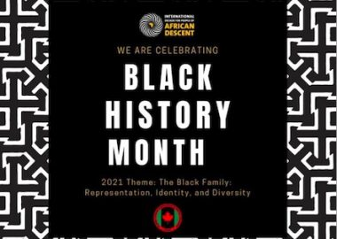 Pic depicting Black History Month in writing