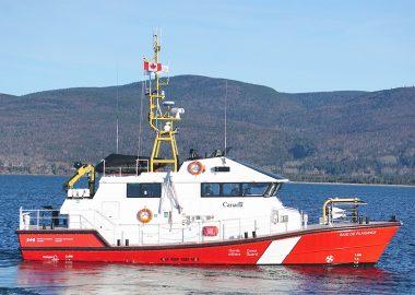 A photo of the Canadian Coast Guard ship Baie de Plaisance