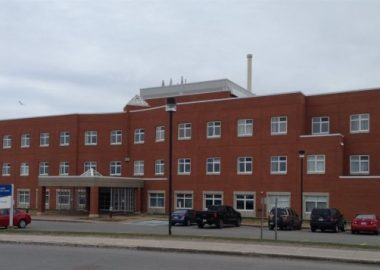 A photo of outside of the CISS del Iles building.