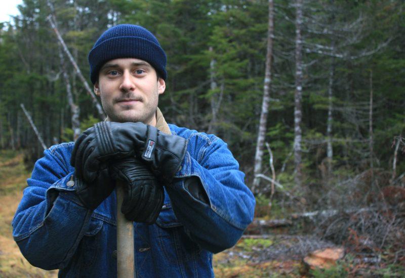 Samuel Bellefleur travaille depuis plusieurs semaines à lancer l'OBNL la Ferme du Rigolet. – Photo Mickael Lambert