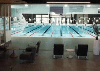 La piscine du complexe aquatique de Saint-Constant