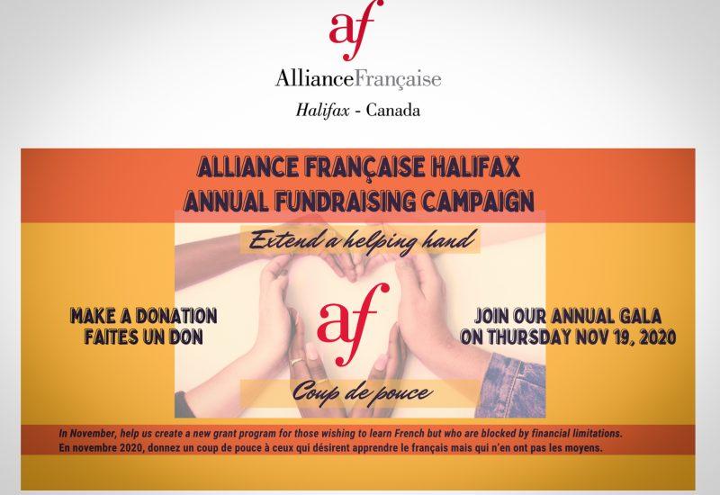 """""""Coup de Pouce"""", un programme de l'Alliance Française Halifax, pour que tout le monde ait accès à des cours de français. Photo : AFH"""