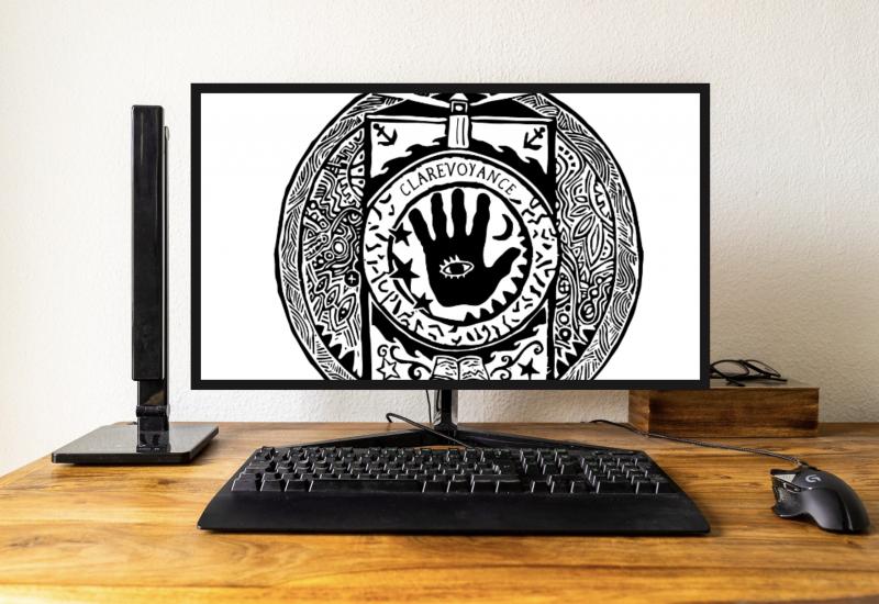 Clarevoyance, le jeu de Chad Comeau réalisé avec la communauté de Clare est disponible sur Steam. Photo : Pixabay/Valentin Alfano