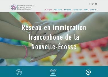 Un nouveau site internet pour le RIFNÉ. Photo : RIFNÉ