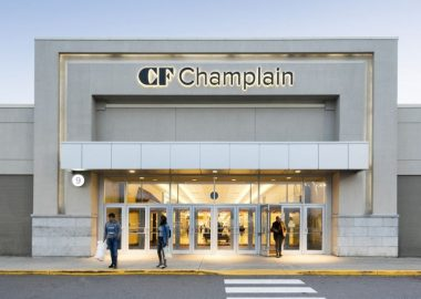 One entrance to the Champlain Mall in Dieppe. Image: CF Champlain Facebook