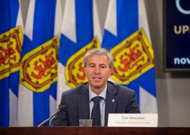 Tim Houston, premier ministre de la Nouvelle-Écosse.