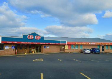 édifice du magasin coopératif