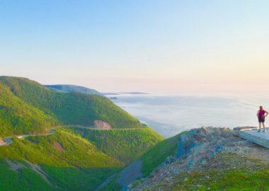 paysage au Cap Breton