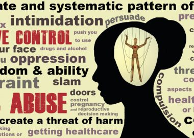 Intimate partner violence (IPV) isn't always physical violence. Controlling behavior can have negative impacts on relationships too. – U.S. Department of Veterans Affairs graphic