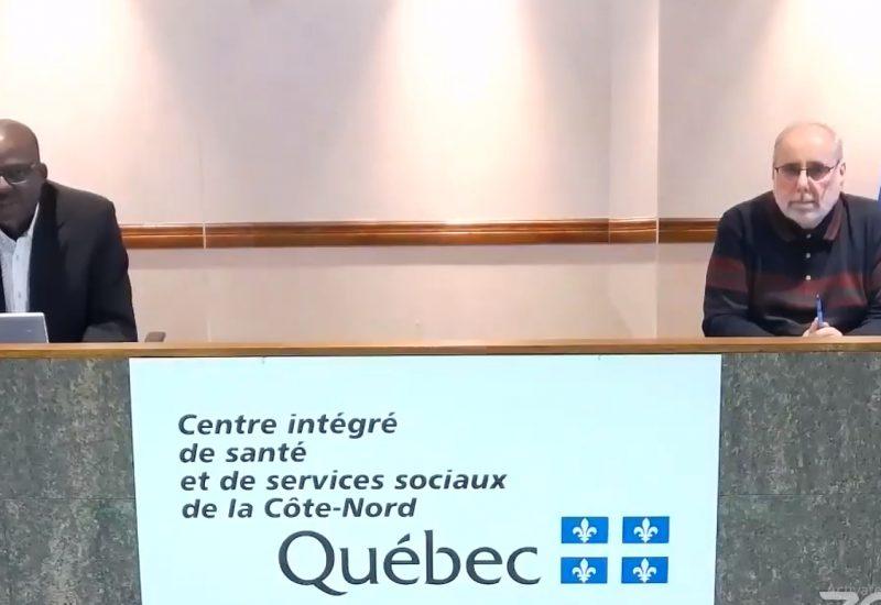 Le CISSS de la Côte-Nord précise que le dépistage sera fortement recommandé et non obligatoire pour la Basse-Côte-Nord. – Capture d'écran Mickael Lambert