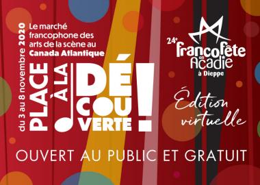 L'affiche de la FrancoFête en Acadie
