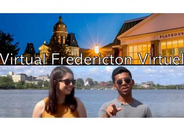 L'affiche de Fredericton Virtuel