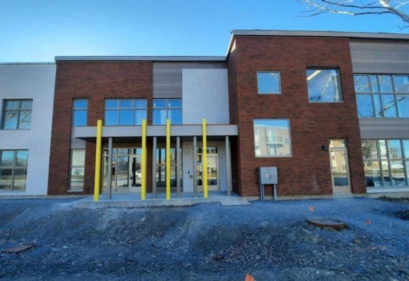Le bâtiment de la nouvelle garderie à Longueuil.