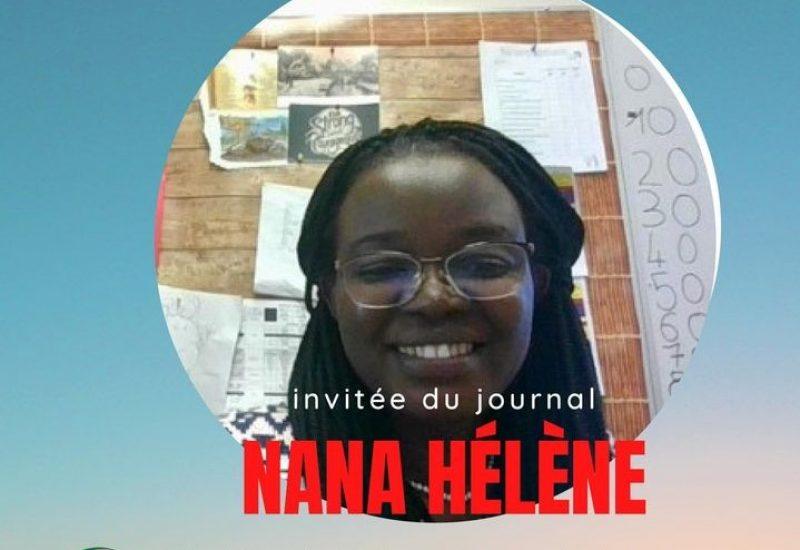 Hélène NANA, enseignante à l'École du Parc à Régina. Photo de la publication de l'école du Parc