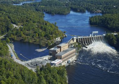 Bryson generating station - Picture from the Hydro Quebec Website