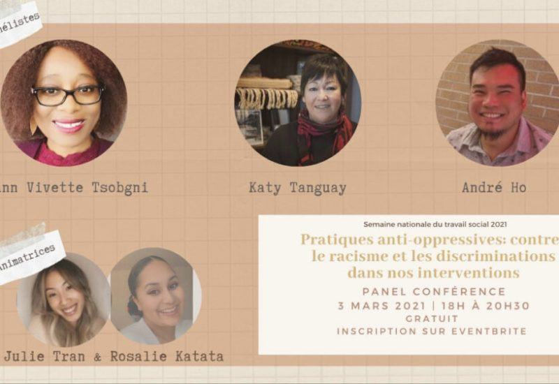 Affiche des participants de la conférence