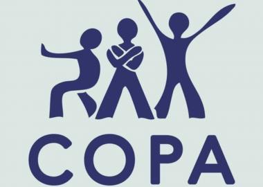 Affiche du logo du centre ontarien de prévention des agressions