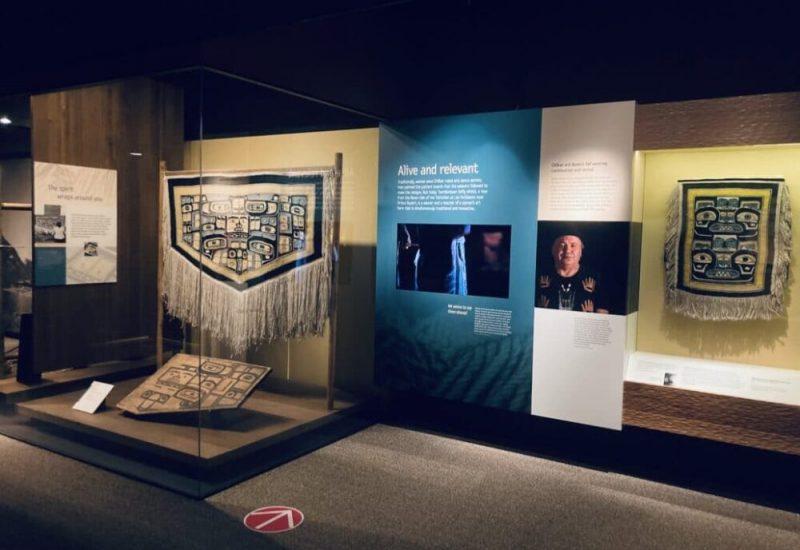 Galerie autochtone au musée royal de Colombie-Britannique