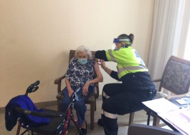 Residents at Birmingham Retirement Community in Mount Forest will receive the COVID-19 vaccine today.