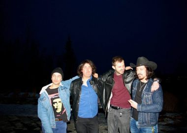 Coldsouth, Prince George's new band creating a buzz. From left: Finn Goguer-Davis, Ian Forman, Felix Toma, and Kohan O'Connor. Photo by Nadia Mansour.